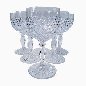 Trinkgläser aus Kristallglas von Saint Louis, 1960er, 6er Set