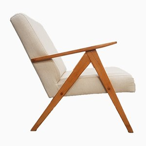 Mid-Century Beige Model B 310 Armchair, 1960s
