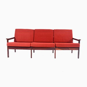 Mid-Century Rosewood Model Capella Sofa by Illum Wikkelsø for Niels Eilersen