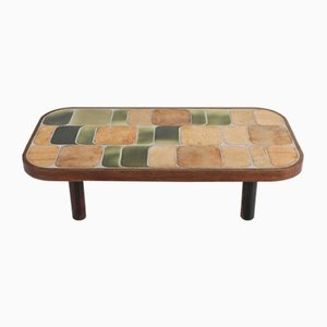 Ceramic Model Shogun Coffee Table by Roger Capron, 1960s
