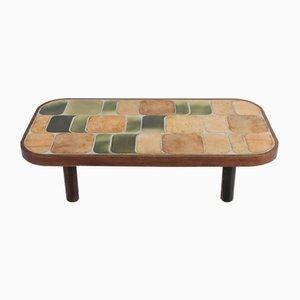 Tavolino da caffè Shogun in ceramica di Roger Capron, anni '60