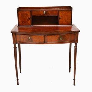 Vintage Schreibtisch aus Mahagoni, 1950er