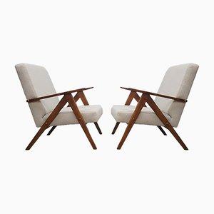 Mid-Century Modell B 310 Sessel In Beige, 1960er, 2er Set