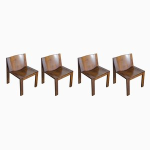 Model SE15 Dining Chairs by Pierre Mazairac & Charles Boonzaaijer for Pastoe, 1970s, Set of 4