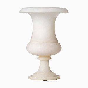 Art Déco Urnenlampe aus Alabaster