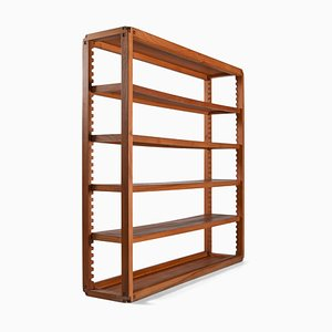 French Solid Elm Shelf by Pierre Chapo, 1970s