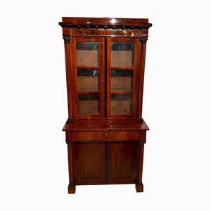 19th Century Biedermeier Mahogany Display Cabinet