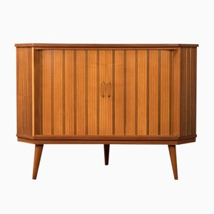 Walnut and Ash Veneer Dresser, 1960s