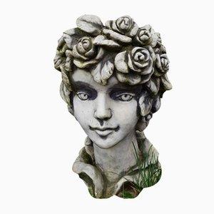 Fioriera Head vintage