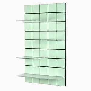 Système d'Étagères Confetti Vert d'Eau par Per Bäckström pour Pellington Design