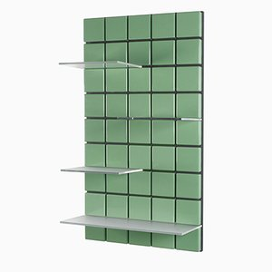 Estantería modular Confetti en verde pálido de Per Bäckström para Pellington Design