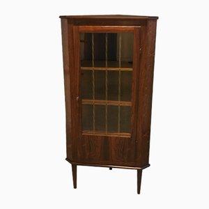 Mid-Century Rosewood Corner Cabinet, 1960s
