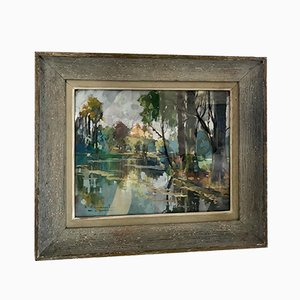 Bois de Boulogne Painting, 1957