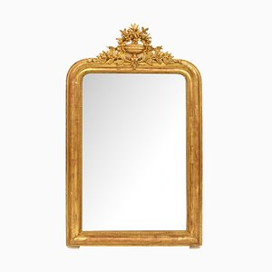 Antique Golden Wall Mirror