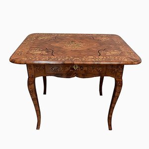 Antique Dutch Walnut Side Table