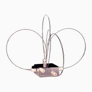 Lampe de Bureau BT2 en Acier par Studio A.R.D.I.T.I pour Sormani Nucleo, Italie, 1972