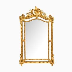 Antique Golden Mirror