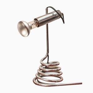 Lampe de Bureau en Laiton, Italie, années 70