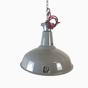 Factory Ceiling Lamp from Benjamin, 1950s