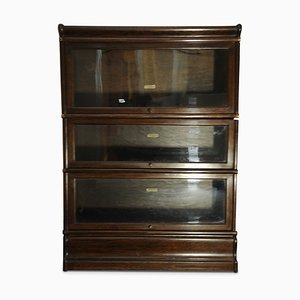 Antique Oak Bookshelf from Globe Wernicke