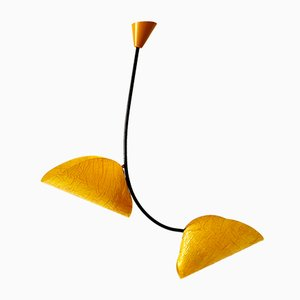 Mid-Century Pendant Lamp by Josef Hurka for Napako, 1960s