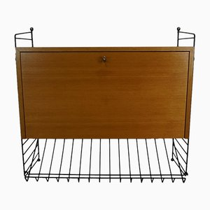Mid-Century Shelf by Kajsa & Nils Nisse Strinning for String, 1950s