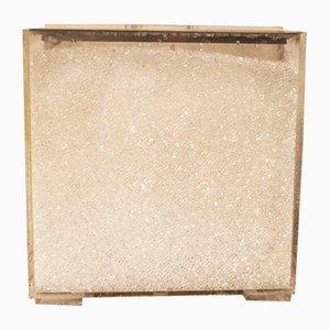 Lampada da tavolo in plexiglas di Giorgetti e Sorgato per Studio SG, Italia, anni '70
