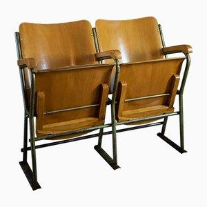 Vintage 2-Sitzer Kinobank , 1950er