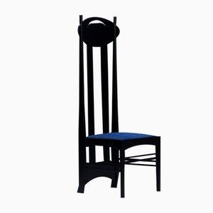 Chaise Modèle Argyle par Charles Rennie Mackintosh pour Cassina, années 70