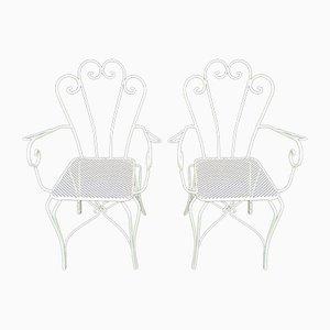 Chaises de Jardin Mid-Century, Set de 2
