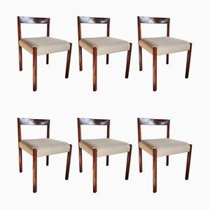 Esszimmerstühle von Alfred Hendrickx, 1960er, 6er Set