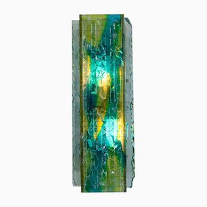 Vintage Glass Sconce by Willem van Oyen for Raak, 1960s
