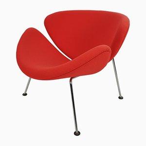 Orangefarbener Slice Sessel von Pierre Paulin für Artifort, 2000er