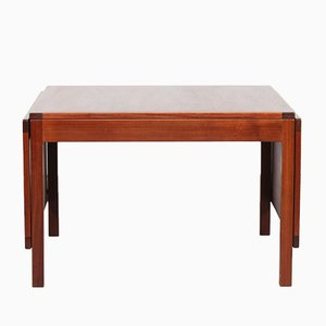Large Walnut Model 5362 Coffee Table by Børge Mogensen for Fredericia, 1960s