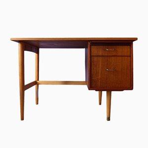 Mid-Century Schreibtisch aus Teak von Morris of Glasgow
