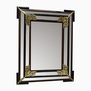 Large 19th Century Louis XIV Style Rectangular Mirror