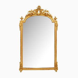 Large Antique Golden Mirror
