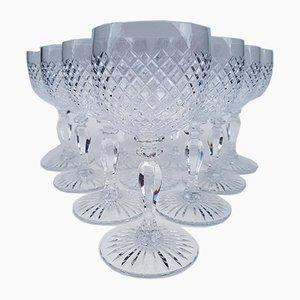 Bicchieri da vino in cristallo di Saint Louis, anni '60, set di 10