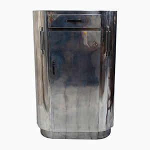 Art Deco Aluminum Tallboy from Hawker, 1940s