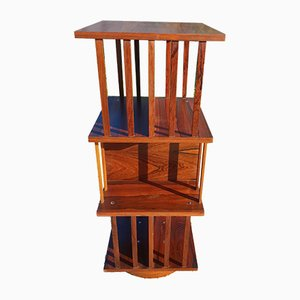 Vintage Rosewood Revolving Cabinet, 1970s