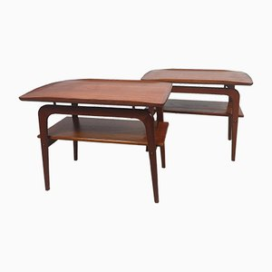 Tavolino Mid-Century in teak di Arne Hovmand-Olsen per Mogens Kold, anni '60