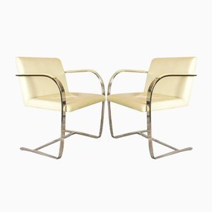 Mid-Century Armlehnstühle von Ludwig Mies van der Rohe für Knoll Inc. / Knoll International, 2er Set