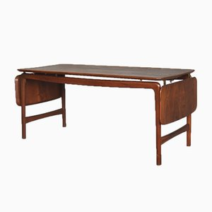 Table Basse en Teck Massif par Peter Hvidt & Orla Mølgaard-Nielsen pour France & Søn / France & Daverkosen, Danemark, 1950s