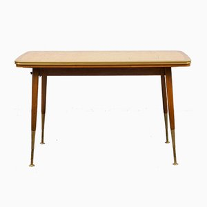 Mid-Century Adjustable and Extendable Dining Table, 1950s