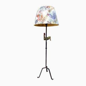 Lampadaire Vintage par Henri Vion et Jean Touret pour Ateliers Marolles, années 50
