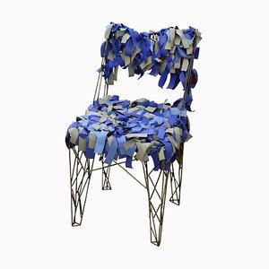Skulpturaler Vintage Beistellstuhl von Anacleto Spazzapan