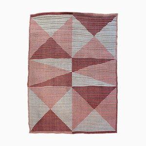 Mid-Century Teppich mit geometrischem Muster, 1960er