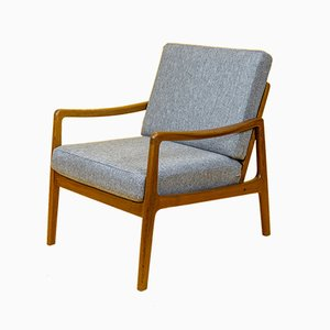 Teak Model FD109 Lounge Chair by Ole Wanscher for France & Søn / France & Daverkosen, 1960s