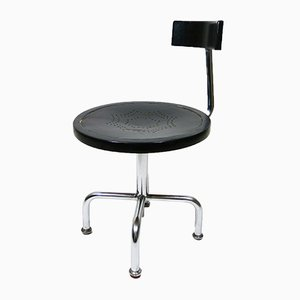 Vintage Tubular Steel Adjustable Architects Chair