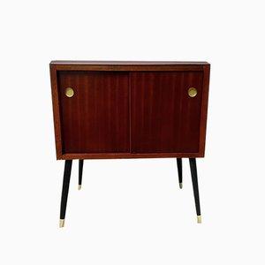 Small Mid-Century Record Cabinet